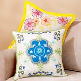 Floral Embroidered Toss Pillows