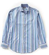 Thomas Dean Striped Shirt