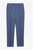 Slim Mid Blue Suit Trousers