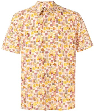 Kenzo Pre Owned 2000's printed shirt