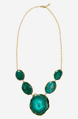 Johnny Was Green Reef Runner Necklace