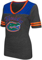 Colosseum Women's Florida Gators Twist V-neck T-Shirt