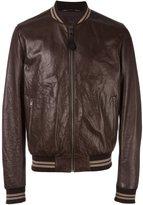 Dolce & Gabbana creased bomber jacket