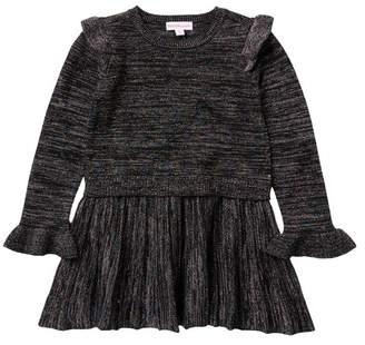 Design History Lurex Sweater Dress (Toddler & Little Girls)