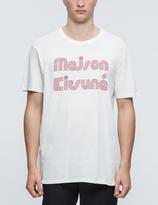 MAISON KITSUNÉ Striped MK S/S T-Shirt