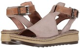 Naot Footwear Verbena (Oily Coal Nubuck/Vintage Slate Leather) Women's Shoes