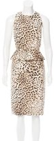 Giambattista Valli Cheetah Print Dress