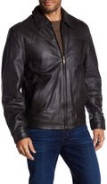 Rogue Classic Open Bottom Leather Jacket
