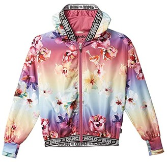 Molo Ophelia Jacket (Little Kids/Big Kids) (Hibiscus Rainbow) Girl's Clothing