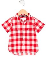 Burberry Boys' Gingham Button-Up Shirt