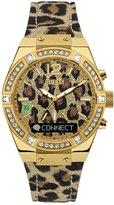 GUESS Connect Leopard-Print Smartwatch