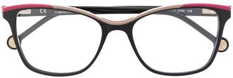 Carolina Herrera Colour-Block Glasses