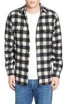 Woolrich Buffalo Plaid Wool Blend Flannel Shirt