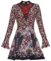 Mary Katrantzou Holbert Cosmo Rose-print A-line dress