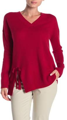 InCashmere In Cashmere Bow Detail Cashmere Sweater