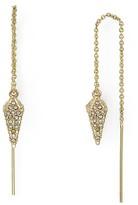 Rebecca Minkoff Pavé Spike Threader Earrings