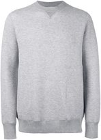 Sacai side pocket sweatshirt - men - Cotton/Nylon - 3