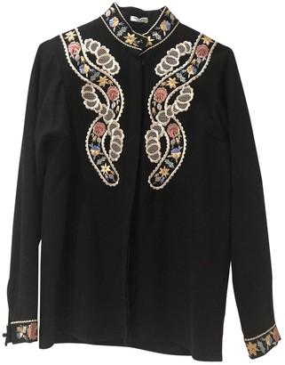 Vilshenko Black Wool Top for Women