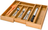 Honey-Can-Do Expandable Bamboo Cutlery Tray