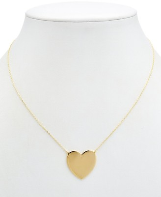 Alanna Bess Limited Collection 14K Over Silver Heart Necklace