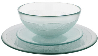 French Home Recycled Glass Dinner Set