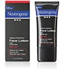 Neutrogena Men Triple Protect Face Lotion with Sunscreen SPF 20 1.70 oz (Pack of 4)