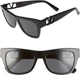 Valentino 52mm Polarized Sunglasses