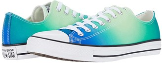 Converse Chuck Taylor All Star Ombre Wash - Ox (Game Royal/Malachite/White) Lace up casual Shoes