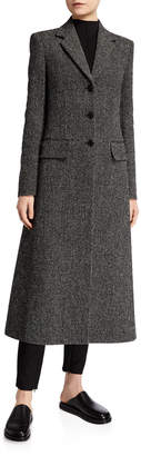 The Row Sua Wool Button-Front Coat