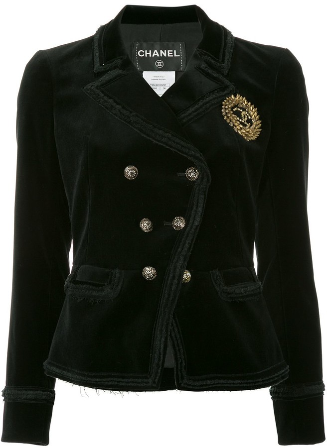 Chanel Pre-Owned double breasted jacket