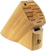Shun Sora 13-Slot Oval Bamboo Block