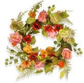 """National Tree Company 22"""" Artificial Spring Floral Wreath"""