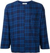 Monkey Time plaid chest pocket T-shirt - men - Cotton - S
