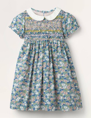 Collared Smocked Dress