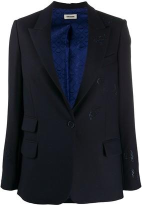 Zadig & Voltaire Sparkle Embellished Blazer