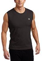 Champion Men's Jersey Muscle T-Shirt,Black,Large