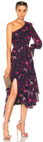 Tanya Taylor Isua Dress in Floral,Red.