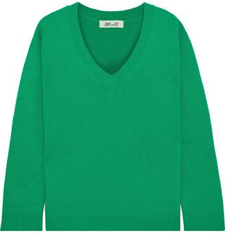 Diane von Furstenberg Kat Wool And Cashmere-blend Sweater
