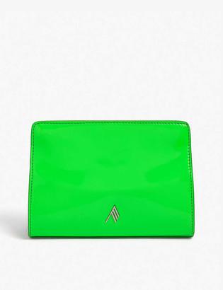 ATTICO Venice patent leather clutch bag