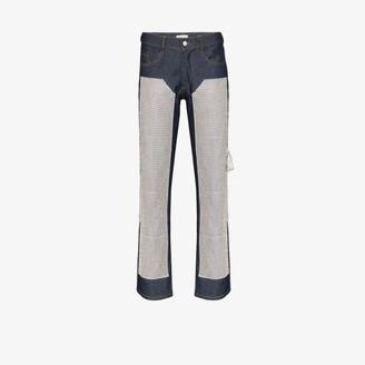 Collina Strada Janet rhinestone jeans