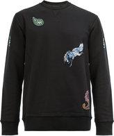 Lanvin paisley embroidered sweatshirt - men - Cotton/Polyester/Spandex/Elastane - S
