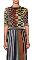 Missoni Women's Checked Elbow-Length-Sleeve Sweater