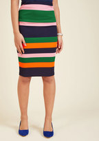 ModCloth Foretold of Bold Pencil Skirt in XS