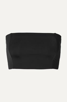 MYRA Daria Bandeau Bikini Top - Black