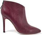 Halston Karen leather ankle boots