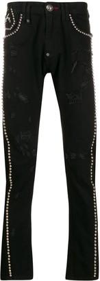 Philipp Plein Milano stud jeans