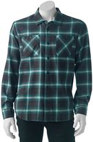 Vans Men's Plaid Woven Button-Down Shirt