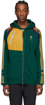 adidas Bed J.W. Ford BED J.W. FORD Green Edition Full Zip Hoodie