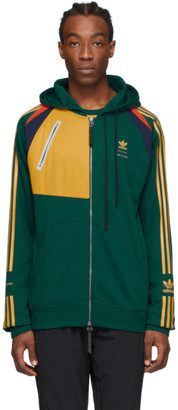 BED J.W. FORD Green adidas Originals Edition Full Zip Hoodie
