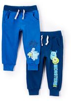 Children's Apparel Network Blue Sweatpants Set - Infant